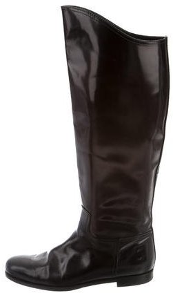 Bottega Veneta Bottega Veneta Leather Riding Boots