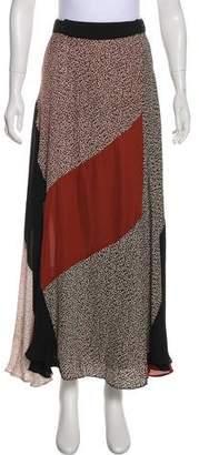 A.L.C. Floral Maxi Skirt