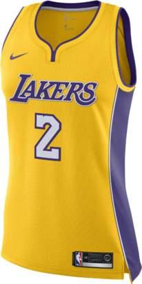 Nike Lonzo Ball Icon Edition Swingman Jersey (Los Angeles Lakers)