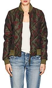 Women's Neil Quilted Cotton-Blend Bomber Jacket