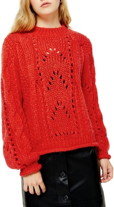 Topshop Shell Sweater