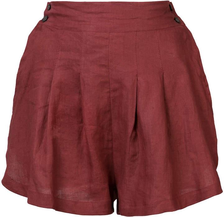 Three Graces Shorts mit hohem Bund