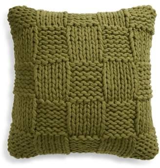 Treasure & Bond Jersey Rope Basket Accent Pillow