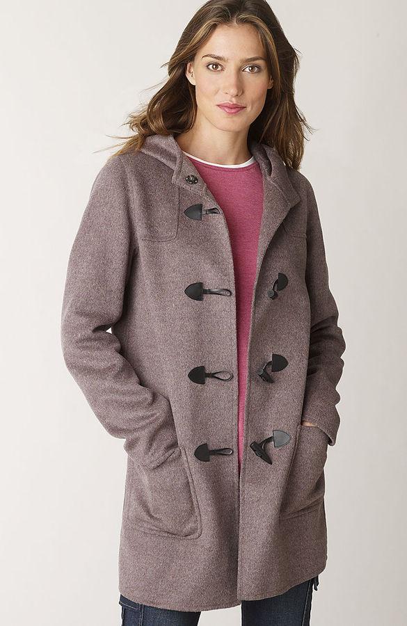 J. Jill Double-faced wool toggle coat
