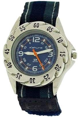 Kahuna Boys Analogue Dial 5ATM Water Resistant Velcro Strap Watch