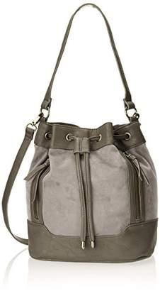 Madden-Girl Bristl Suede Treatment Shoulder Bag