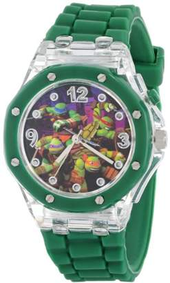 Nickelodeon Teenage Mutant Ninja Turtles Kids' TMN9014 Watch with Rubber Band