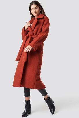 Luisa Lion X Na Kd Waist Belt Coat Rust