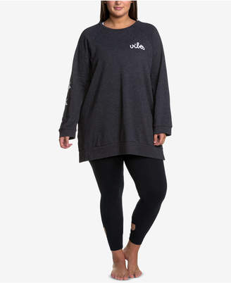 Soffe Curves Plus Size Oversized Sweatshirt
