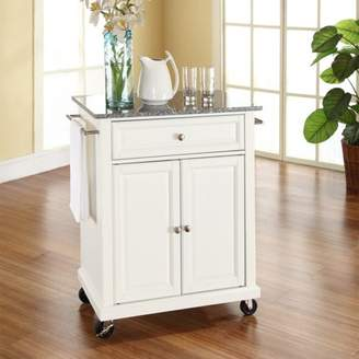 Crosley Generic Furniture Solid Granite Top Portable Kitchen Cart