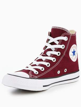Converse Chuck Taylor All Star Hi-Tops - Burgundy