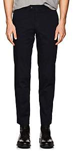 Hiltl Men's Cotton Modern-Fit Trousers - Navy Size 36