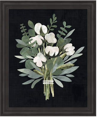 Cut Paper Bouquet Ii by Victoria Borges Framed Art