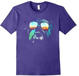 English Bulldog Neon Dog Shirt