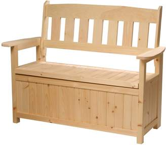 Country Comfort Chair Cape Cod Storage Bench