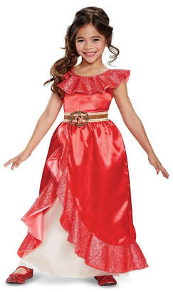 BuySeasons Elena of Avalor Elena Deluxe Adventure Gown Toddler Girls Costume