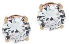 Jessica Simpson Round Crystal Stud Earrings