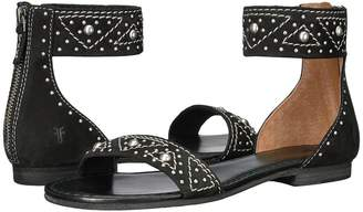 Frye Carson Deco Zip Women's Dress Sandals