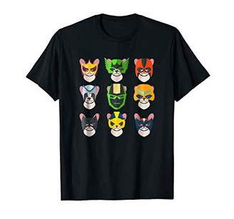 French Bulldog Super Dogs Superheroes T-Shirt for Men Kids