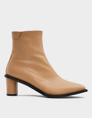 Reike Nen Wave Heel Ankle Boot in Beige