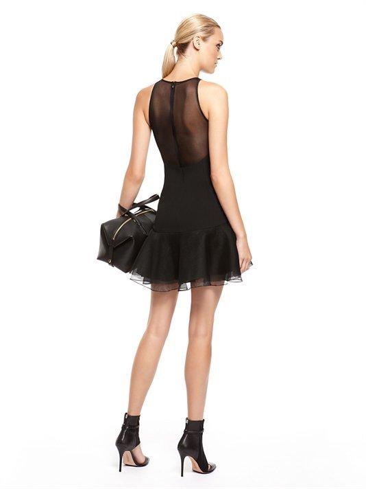 DKNY Sleeveless Dress With Flounce Hem