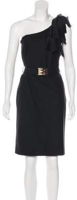Fendi Virgin Wool Dress