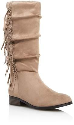 ed096ebe311 Steve Madden Girls  JFringely Slouch Boots - Little Kid