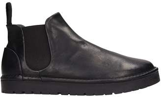 Marsèll Beatles Black Leather Boots