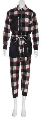 3.1 Phillip Lim Virgin Wool Long Sleeve Jumpsuit