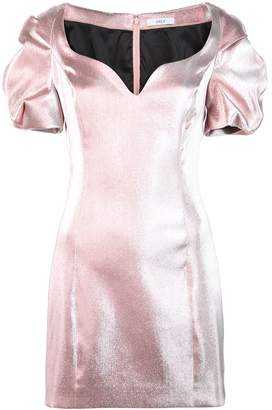 Area puffball mini dress