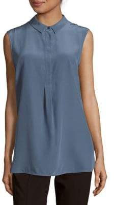 Peserico Sleeveless Silk Top