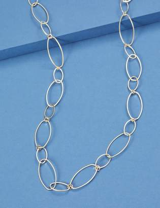 Lane Bryant Metal Oval Link Necklace