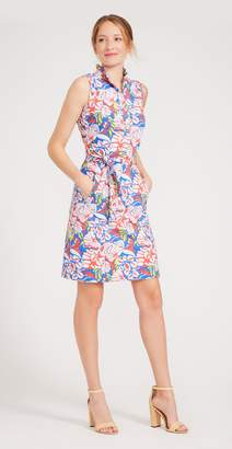 J.Mclaughlin Doris Dress in Mini West Pond