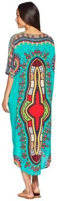 Plush Soleil Bali Kimono Women's Clothing