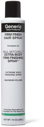 Paul Mitchell Generic Value Products Firm Finishing Hair Spray Compare to Extra-Body Firm Finishing Spray