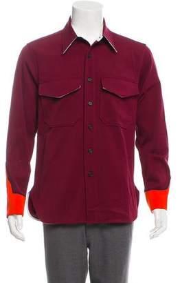 Calvin Klein Twill Button-Up Shirt