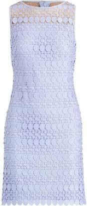 Lauren Ralph Lauren Ralph Lauren Lace-Mesh Sleeveless Dress