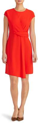 Rachel Roy Collection Asymmetrical Twist Knit Dress