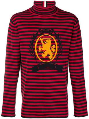 Tommy Hilfiger striped roll neck jumper