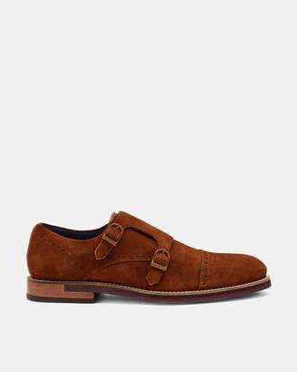 Ted Baker CLINNTE Double buckle monk shoe