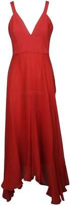 Dondup V-neck Long Dress