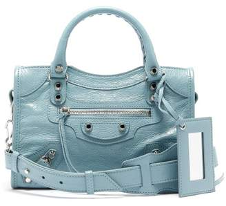 Balenciaga Classic City Mini Bag - Womens - Light Blue