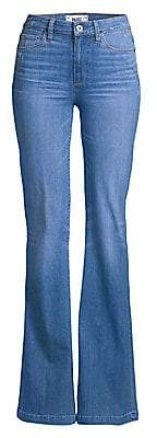 Paige Women's Genevieve High-Rise Flared Jeans