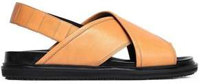Marni Fussbett Leather Slingback Sandals