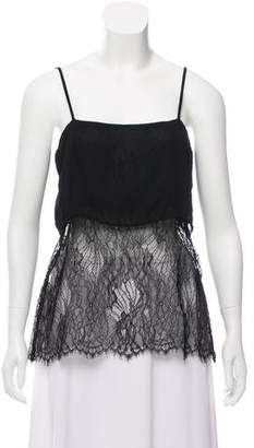 Reformation Sleeveless Lace Top