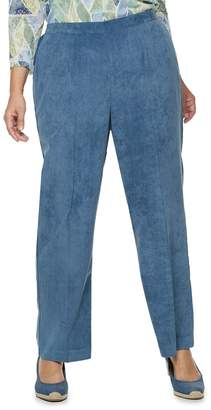 Alfred Dunner Plus Size Studio Pull-On Corduroy Pants