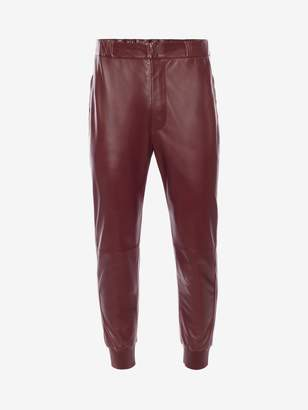 Alexander McQueen Lambskin Leather Pants