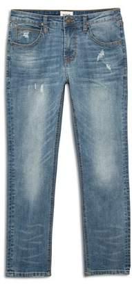 Hudson Boys' Vance Distressed Slim Straight Jeans - Big Kid