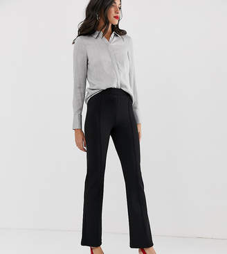 Y.A.S Tall flared pants with seam detail