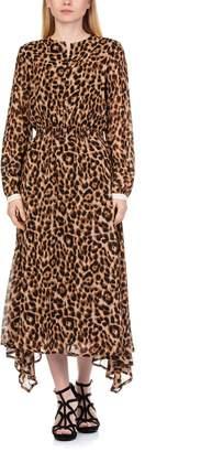 Essentiel Rus Uneven Smocked Dress